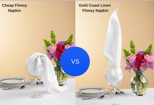 Restaurant Napkin supplier - Gold Coast